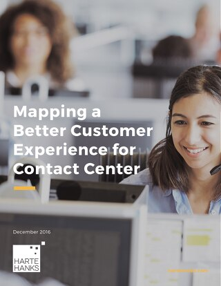 Mapping a Better Customer Experience for Contact Center