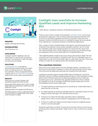 Castlight Health Case Study