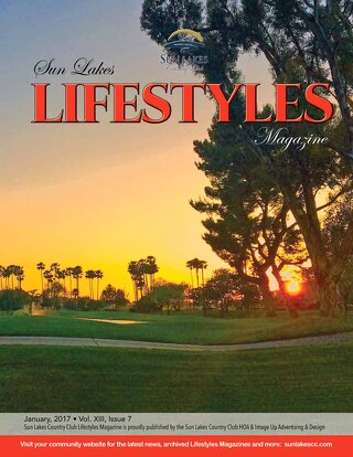 Sun Lakes Lifestyles January 2017