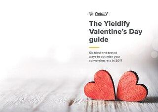 Yieldify Valentine's Day guide 2017