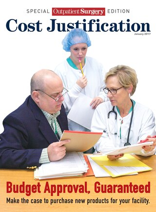 Special Outpatient Surgery Edition - Cost Justification - January 2017