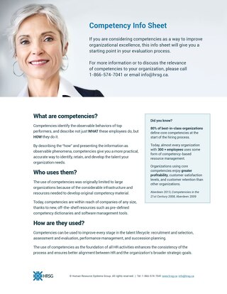 Competency Infosheet