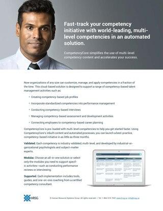 CompetencyCore Brochure