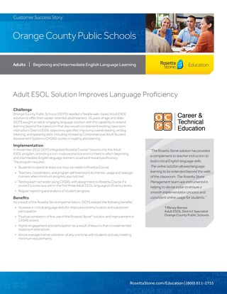 [Case Study] Orange County Public Schools