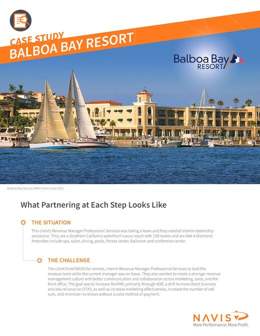 Balboa Bay Resort Case Study