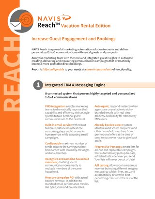 Reach for Vacation Rentals Product Brochure