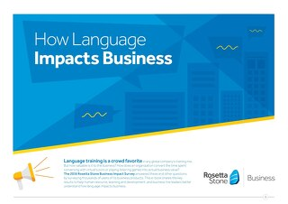 How Language Impacts Business