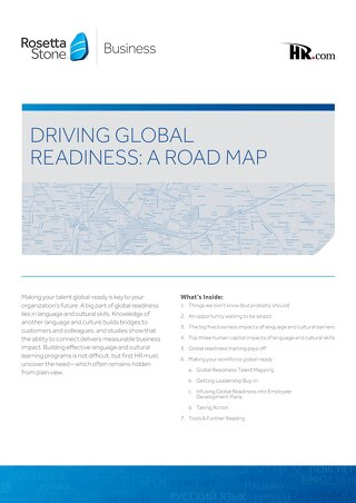 Driving Global Readiness: A Road Map