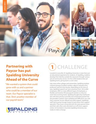 Case Study: Spalding University