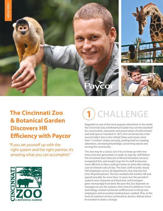 Case Study: Cincinnati Zoo