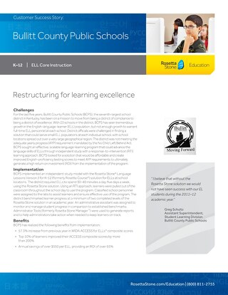 [Case Study] Bullit County Public Schools