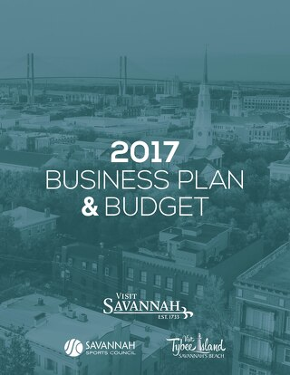 Visit Savannah Business Plan 2017