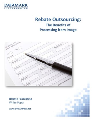 Rebate Outsourcing -The Benefits Of Processing From Image