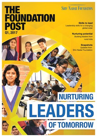 The Foundation Post, Q1, 2017: Shiv Nadar Foundation's newsletter