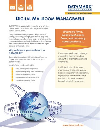 Digital Mailroom Brochure