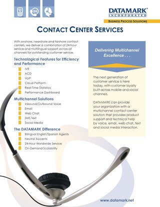 Contact Center Services Brochure