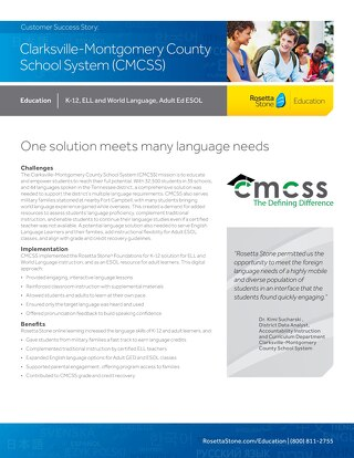[Case Study] Clarksville-Montgomery County School System