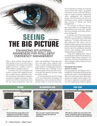Seeing the Big Picture: Enhancing Situational Awareness for Intelligent Emergency Management