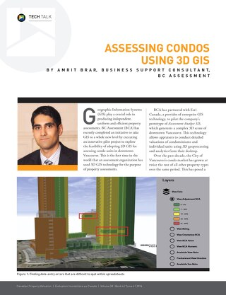 Assessing Condos Using 3D GIS