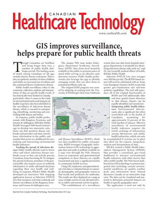 GIS Improves Surveillance, Helps Prepare for Public Health Threats