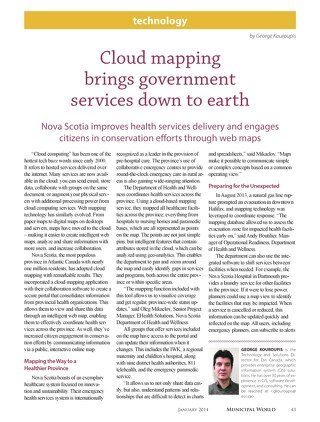 Cloud Mapping Brings Government Services Down to Earth