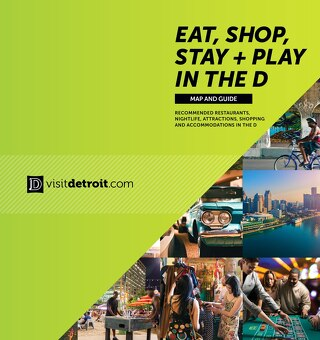 Eat, Shop, Stay + Play map 2017