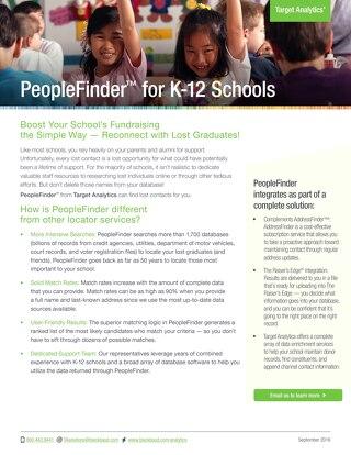 PeopleFinder for K-12 Schools