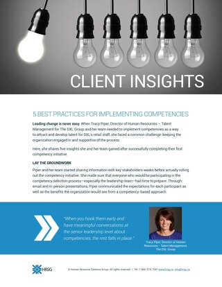 Client Insight - DXL Group