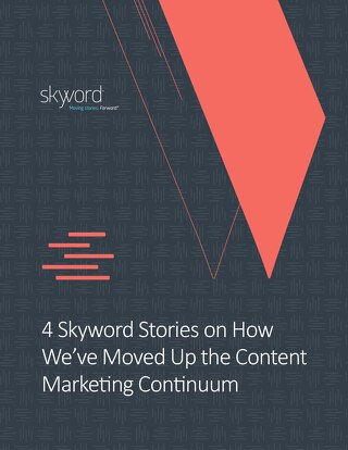 Skyword Content Marketing Continuum