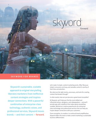 Skyword Overview For Brands