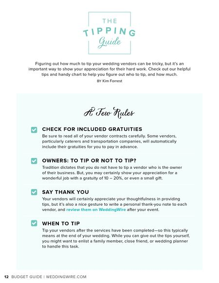 Weddingwire weddingwire budget guide 2017 contents of this issue junglespirit Image collections