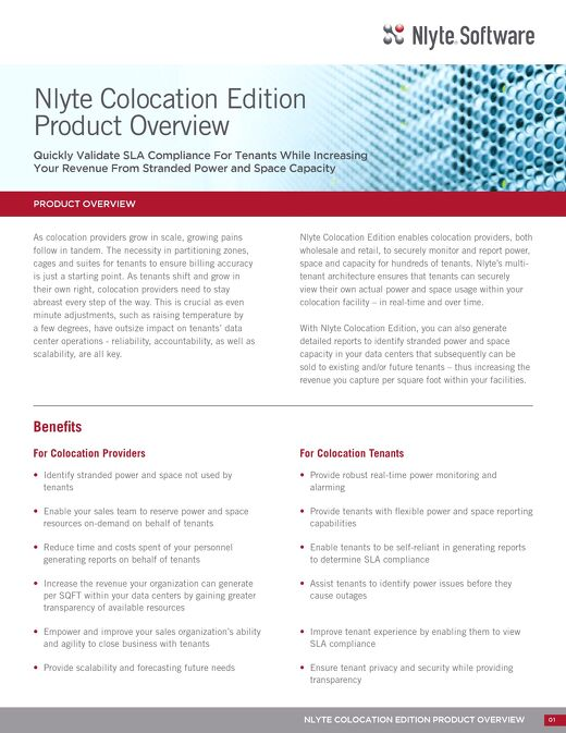 Nlyte Colocation