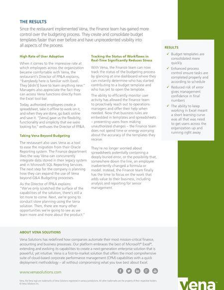 Case Studies [SOURCE] - Client Use Case - Fast Food Restaurant Chain ...