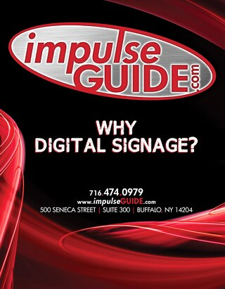 Why Digital Signage