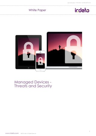 White paper: Managed devices - threats and security