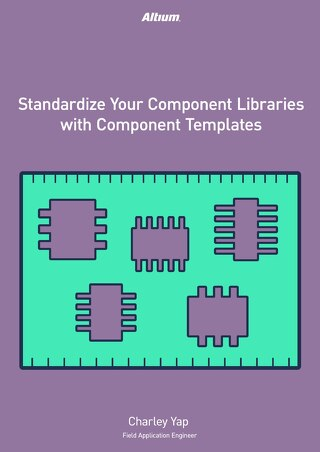 Standardize Your Component Libraries with Component Templates (Vault Component Template)