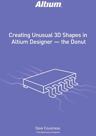 Creating Unusual Shapes in Altium Designer - The Donut