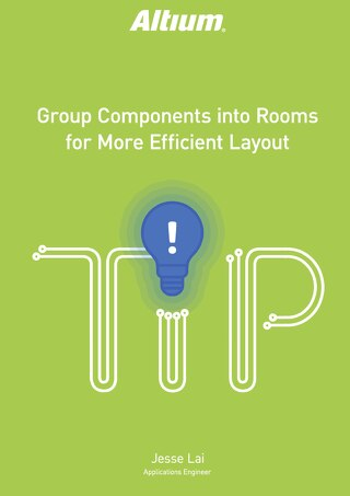 Group Components into Rooms for More Efficient Layout