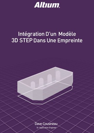 Embedding 3D Step Model in a Footprint FR