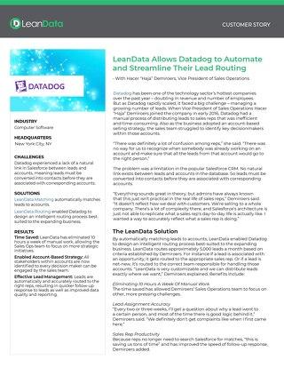 Datadog Case Study