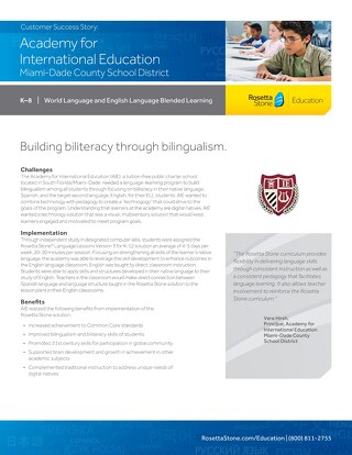 [Case Study] Academy for International Education