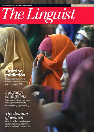 The Linguist 56,1 – February/March 2017