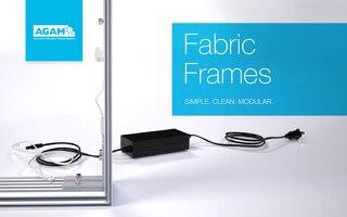 AGAM Fabric Frames