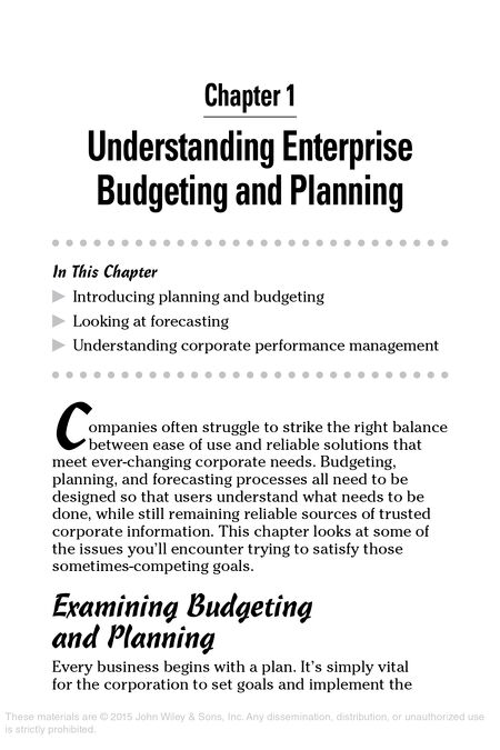 Ebooks source enterprise budgeting for dummies use wiley url fandeluxe Image collections