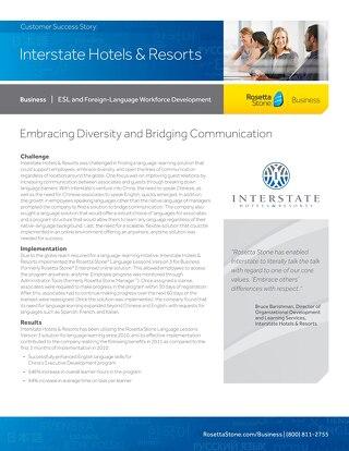 [Case Study] Interstate Hotels & Resort