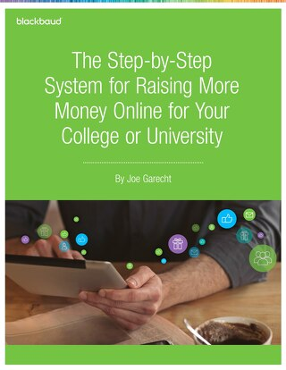 Online Fundraising for Your College or University