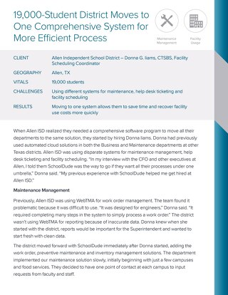 Allen Independent School District Case Study