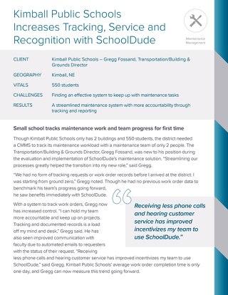 Kimball Public Schools Case Study