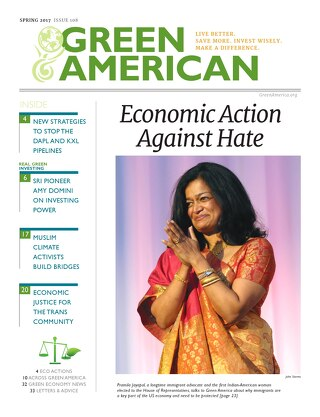 Green American #108, Spring 2017