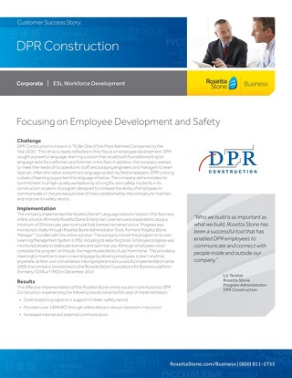 [Case Study] DPR Construction